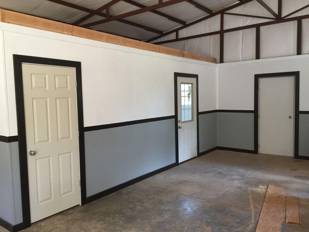 Osb Board On Garage Walls Interior Exterior Wall Panels