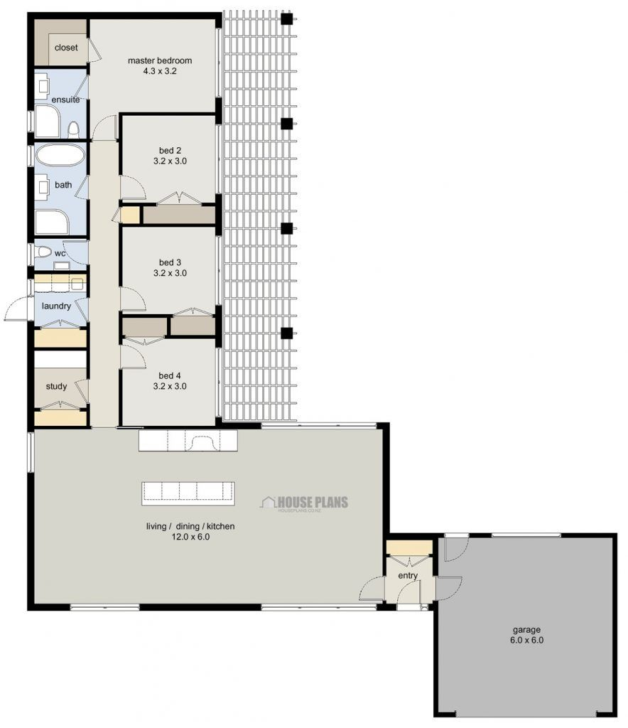 Zen Lifestyle 3 4 Bedroom House Plans New Zealand Ltd Bedroom House Plans Bungalow Floor Plans 4 Bedroom House Plans