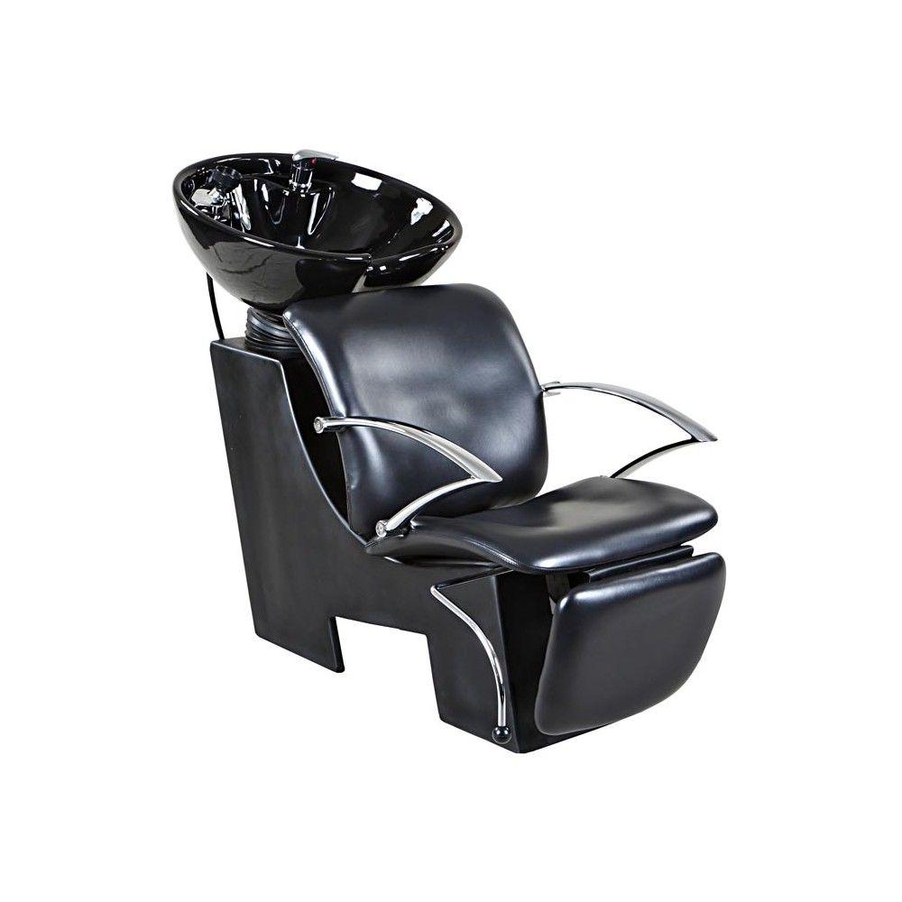 salon shampoo sink and chair