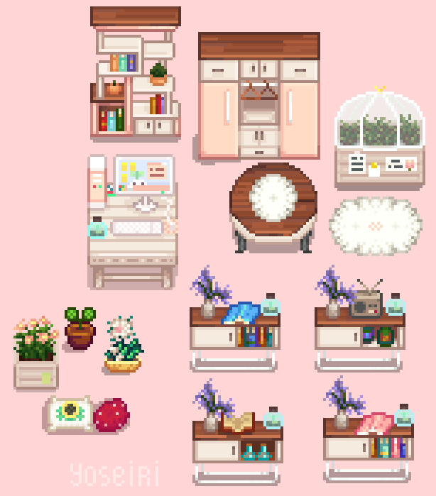 Screenshot Simple Life Furniture Stardew Valley Layout