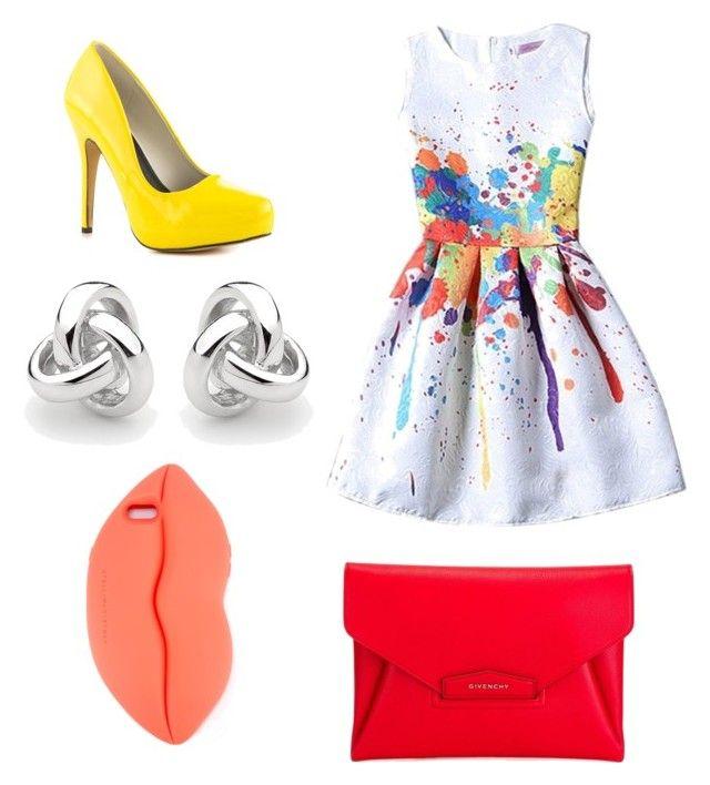 """""""Outfit para una fiesta en la tarde"""" by carolinagonzalez-v on Polyvore featuring moda, Michael Antonio, Givenchy, Georgini y STELLA McCARTNEY"""