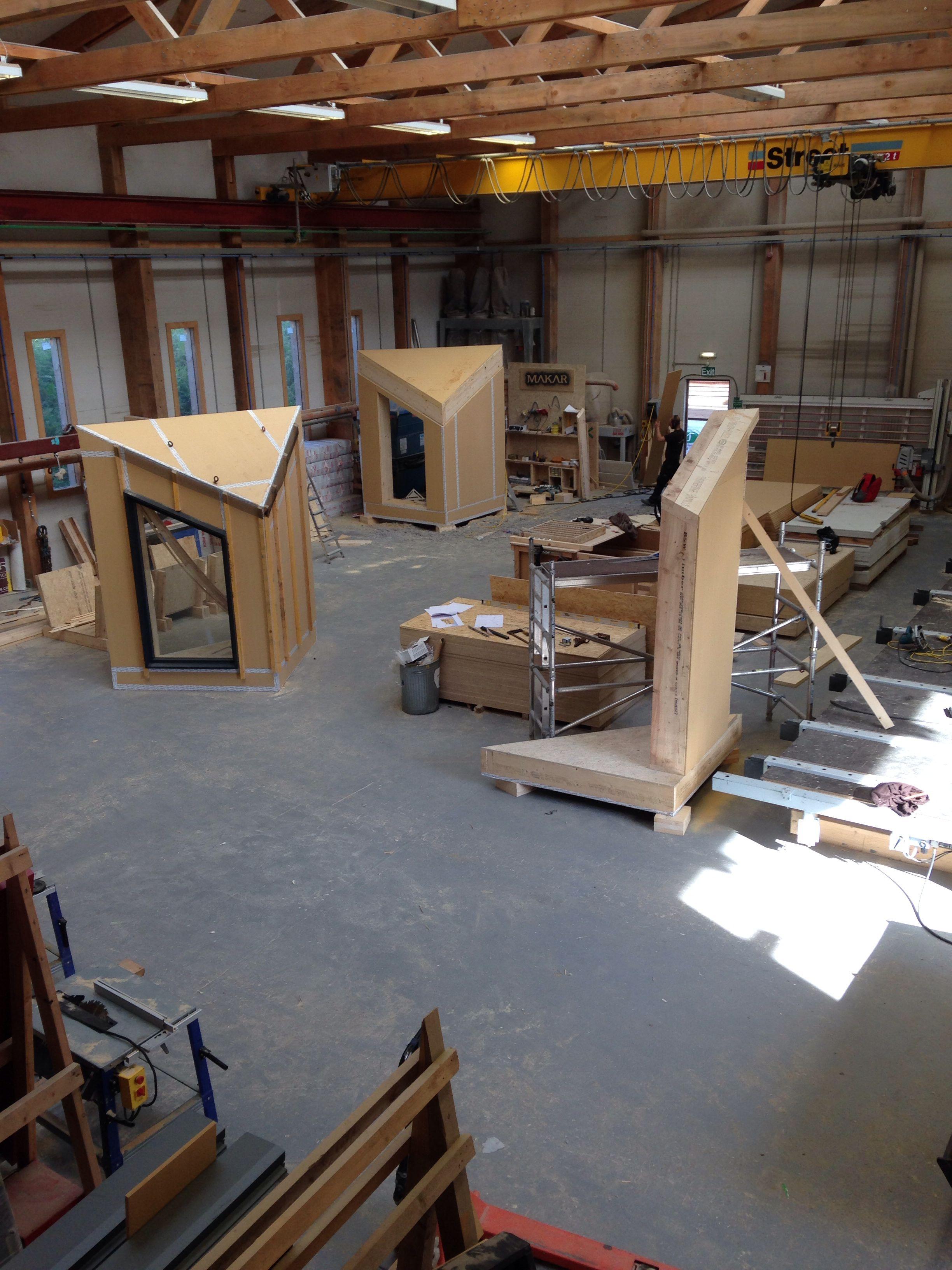 Building 3d pods