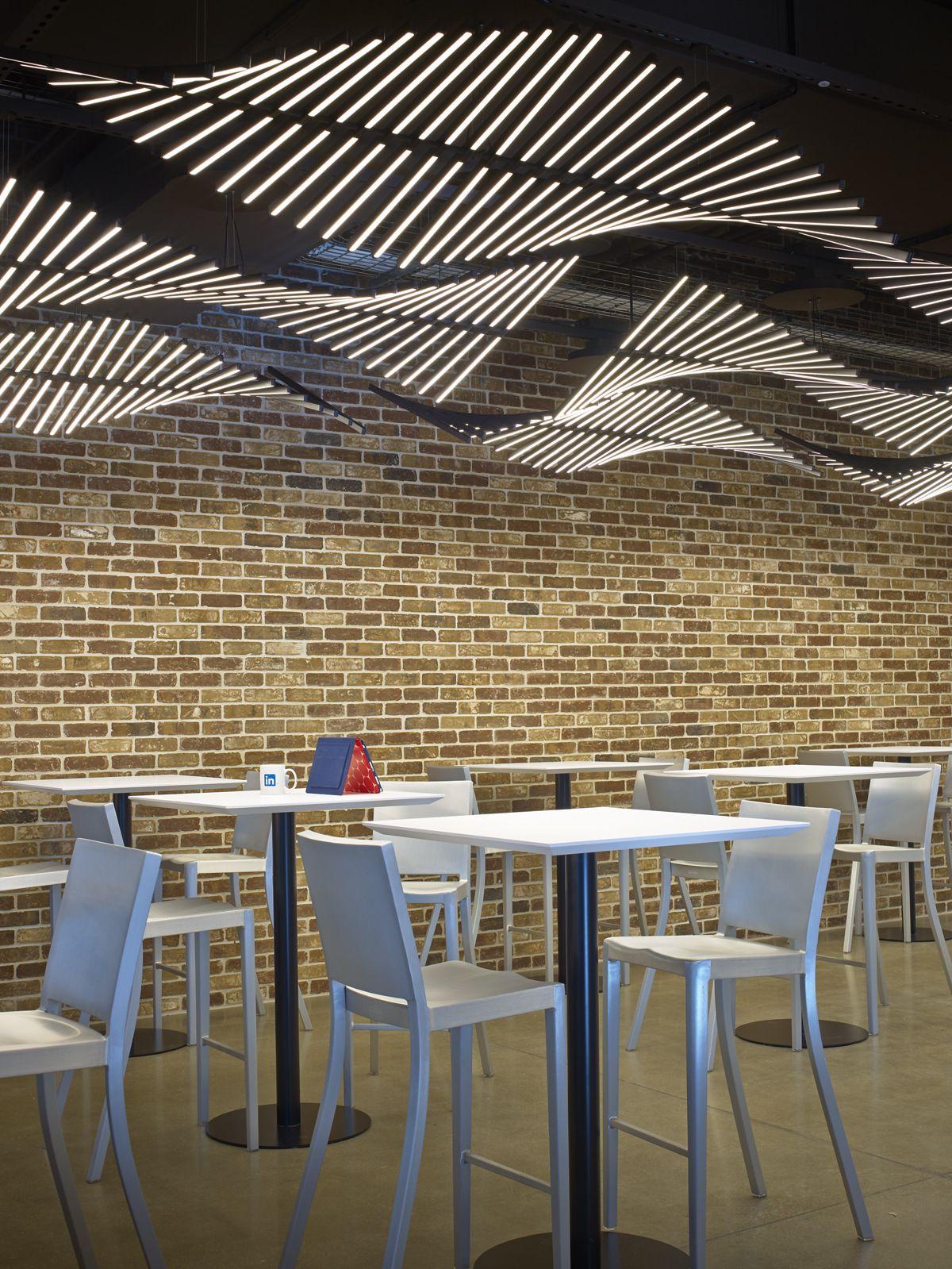 Office Tour Linkedin Sunnyvale Campus Ceiling Design