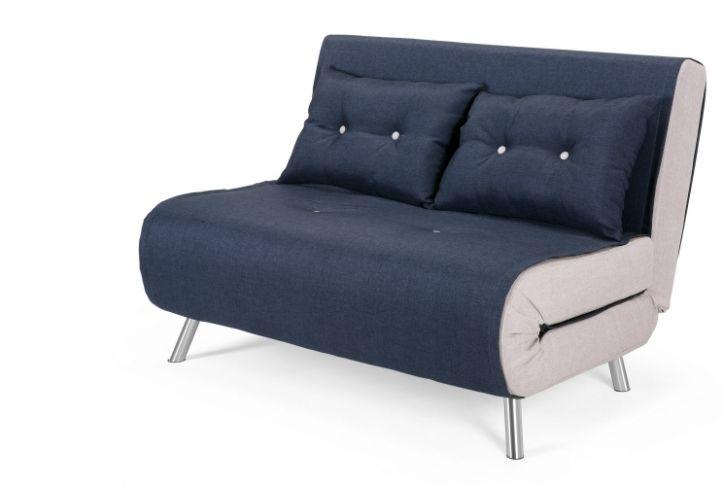 Haru Small Modern Sofa Bed Quartz Blue