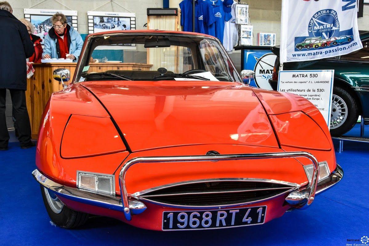 Matra 530 au salon de reims reportage complet http for Salon auto reims