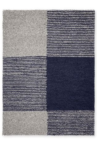 Buy Navy Hofoten Check Rug From The Next Uk Online Shop Large Wool Rugs Rugs Large Rugs