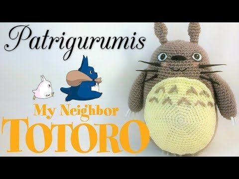 Amigurumi Totoro Receita : Totoro amigurumi fÁcil youtube mintak