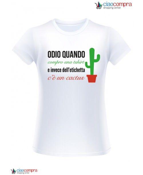 Odio quando compro una T-shirt e invece dell'etichetta c'è un