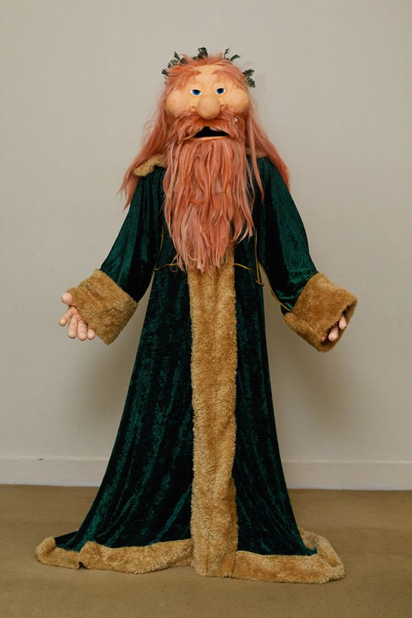 Ghost Of Christmas Present Costume.This Muppet Ghost Of Christmas Present Costume Will Make You