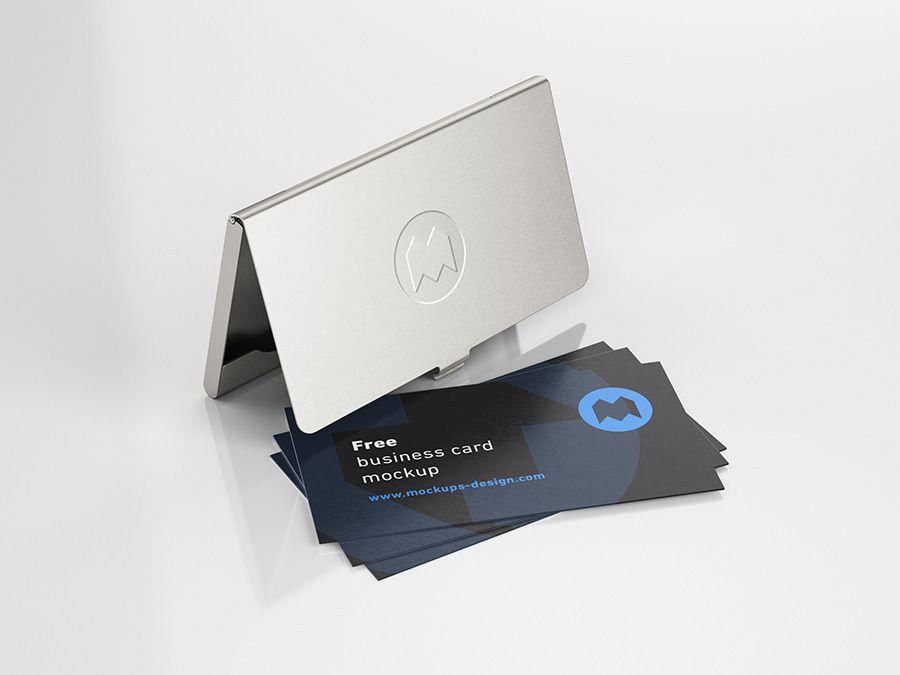 Free Business Card Holder Mockup Mockups Design Free Premium Mockups Free Business Card Mockup Business Card Mock Up Free Business Cards