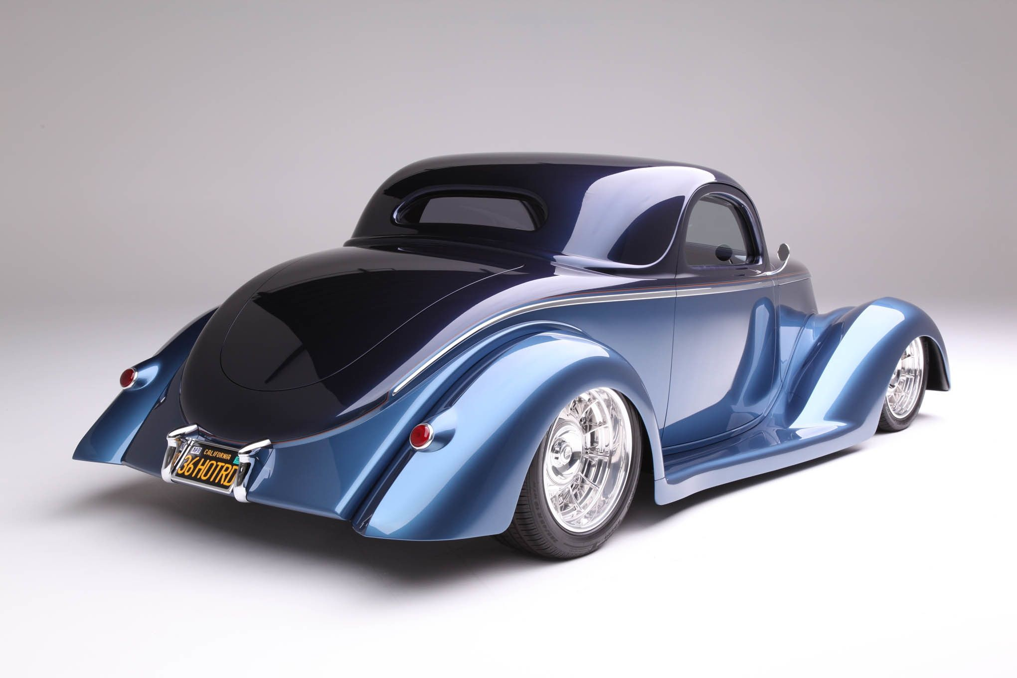 1936 Ford Coupe Is Chip Foose Designed And Handformed In Metal By Marcel De Ley Hot Rod Network Foose Classic Cars Hot Rods Cars