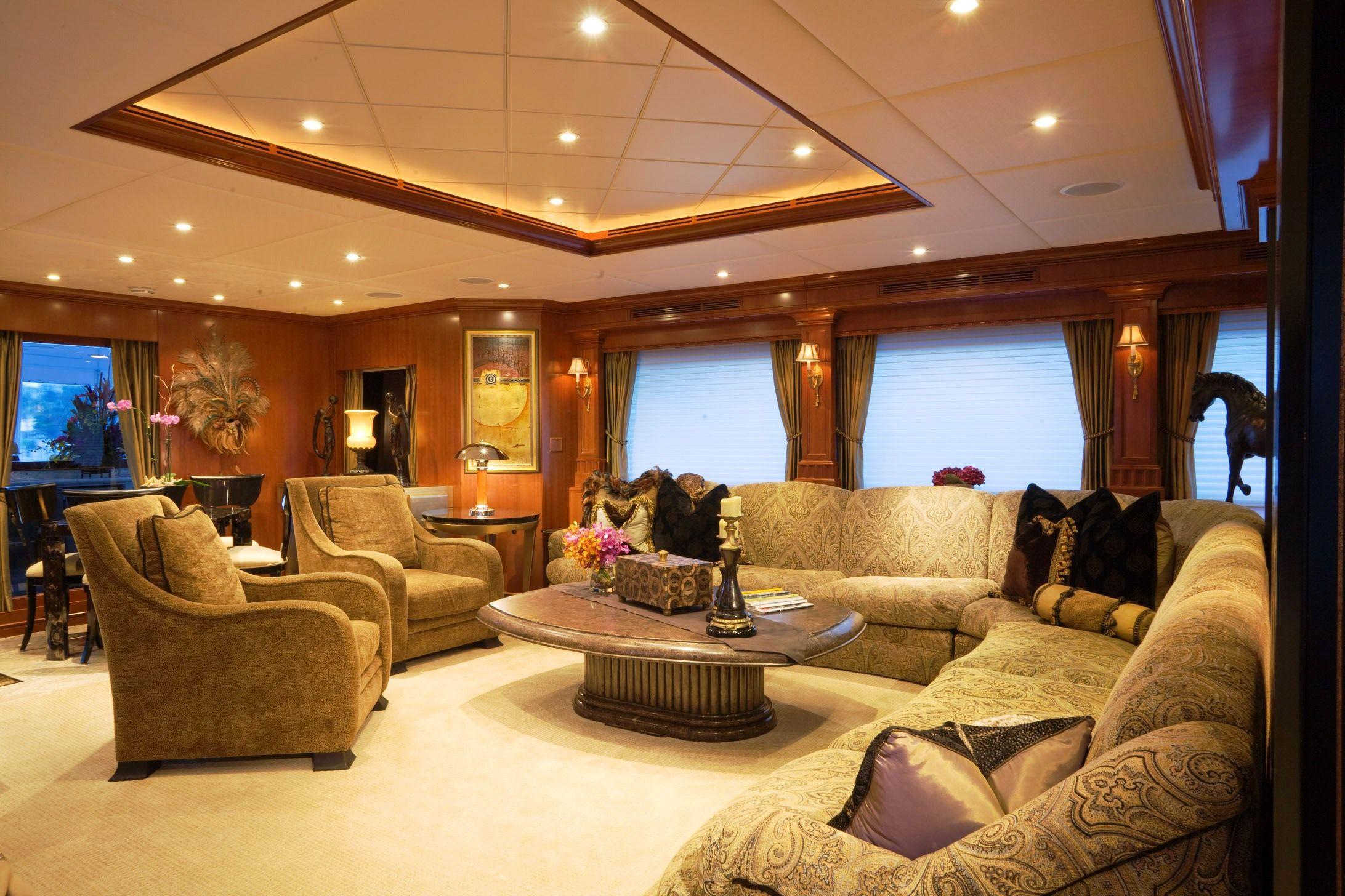 Yacht interior. Imagine relaxing and feeling the moment of the ocean waves.. heaven! #realestatedivabrenda #brendadouglas