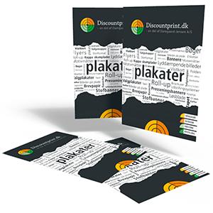 Plakater - digitaltryk produceres i formaterne A2, A3 og 47x70cm. (50x70 cm. med hvid kant) køres på 160 gr.