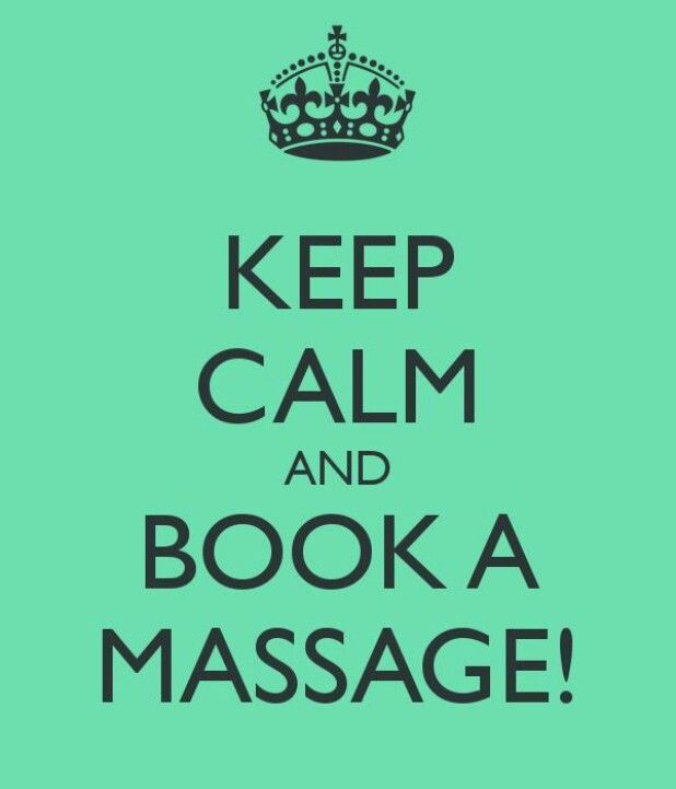 Another great service offered advanced spine and sports medicine keep calm and book a massage restore massage australia colourmoves