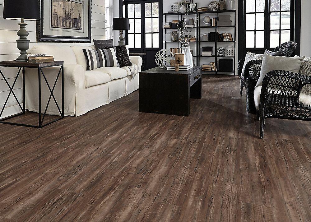 5mm Rustic Reclaimed Oak fullscreen Luxury vinyl plank