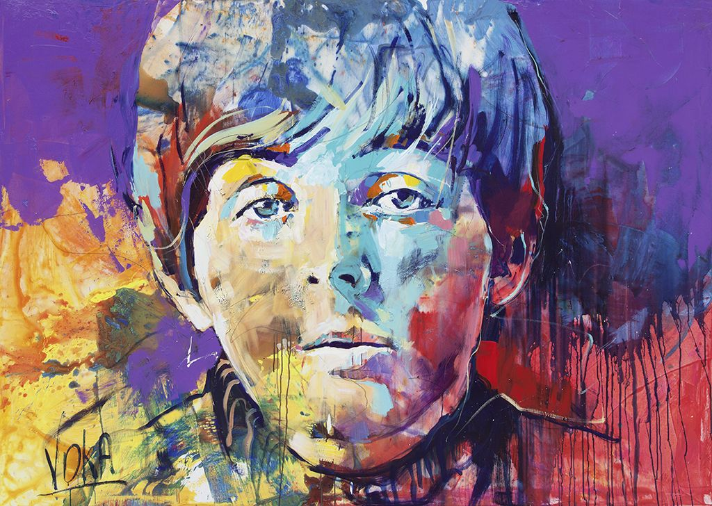 Paul, 150x210cm/ 59,1x82,7 inch, acrylic on canvas | Artist/Voka ...
