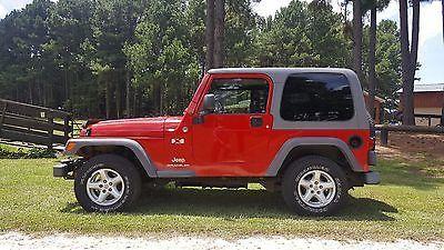 EBay: 2005 Jeep Wrangler X 2005 Jeep Wrangler X, Extremely Nice, Hard Top