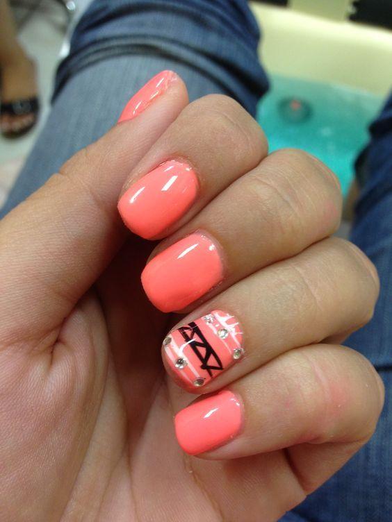 shellac ideas for short nails google search - Shellac Nail Design Ideas