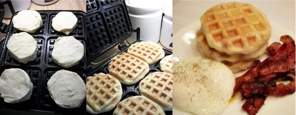 Biscuit Waffles anyon