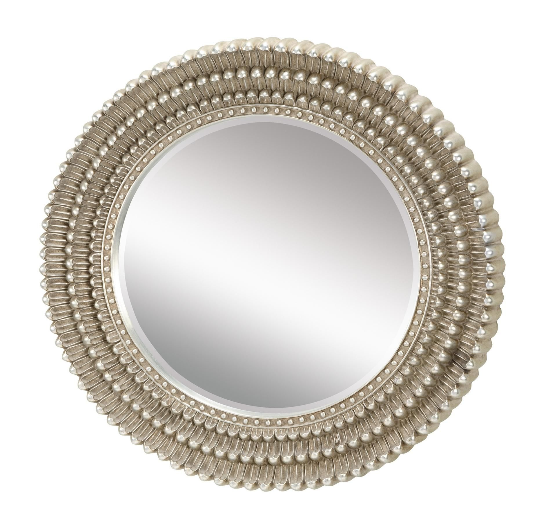 Sterling Industries 6050409 Dahila Mirror in Antique Silver Leaf in ...