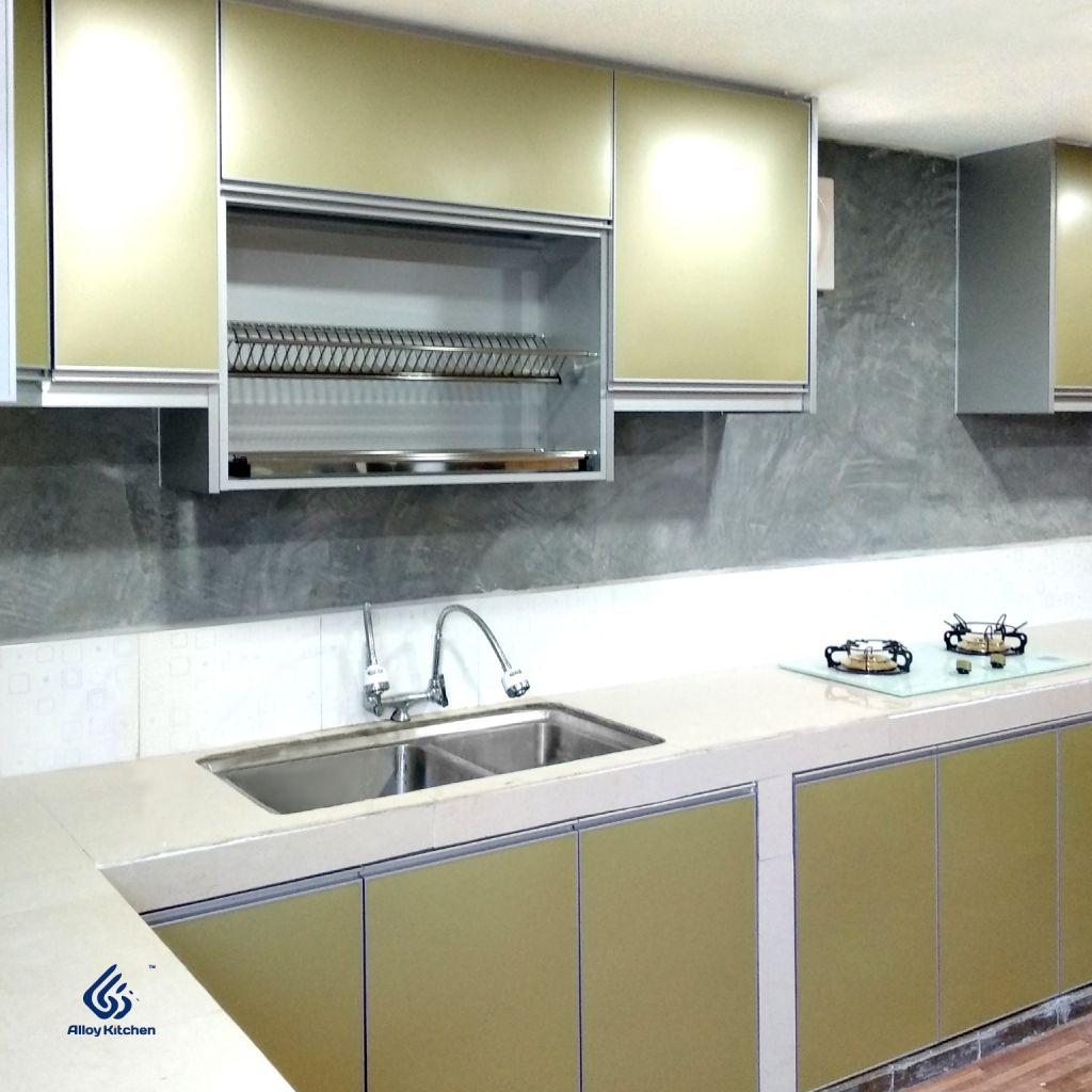 Alloy Kitchen Aluminium Kitchen Cabinet Specialist In 2020 Aluminum Kitchen Cabinets Kitchen Cabinets Aluminium Kitchen
