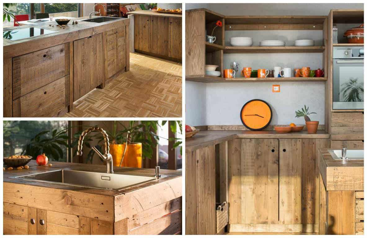 Entire Modern Kitchen Made Out Of Pallets | Kitchen ...