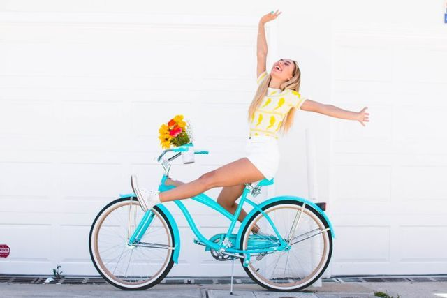 #30DaysOfEvaOutfits – Biking In Newport!