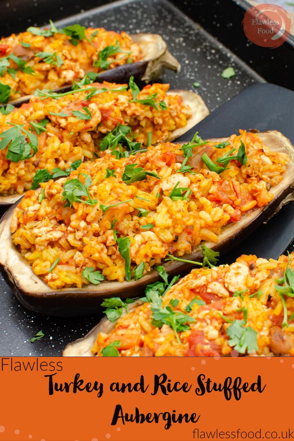 Turkey and Rice Stuffed Aubergines | Recipe in 2020 | Good ...