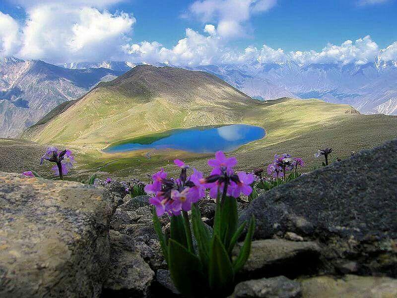 Highest Lake of Pakistan Rush Lake Nagar Pakistan