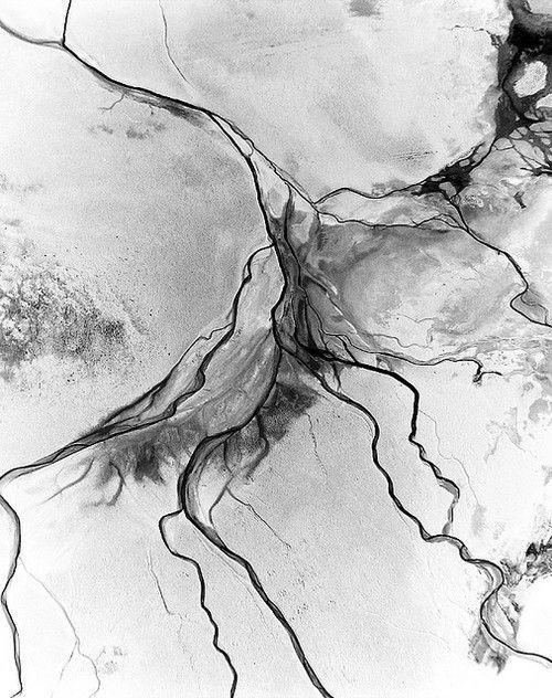 Aerial Photo Black And White Art Designs Texture