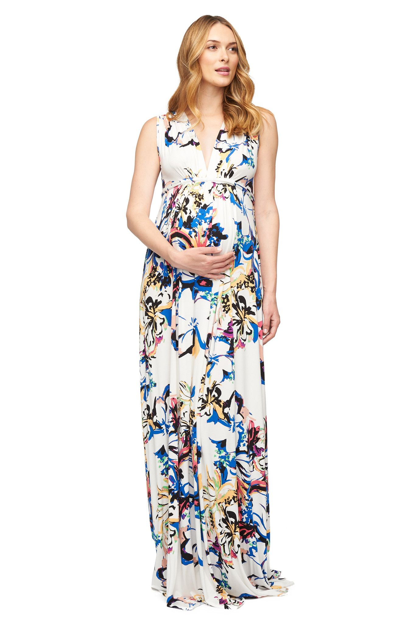 Rachel pally long sleeveless caftan print botanical mommy rachel pally long sleeveless caftan print botanical ombrellifo Images