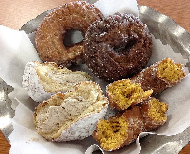 Cookie Jar Maine Brilliant Fall For Maine Donuts In Seasonal Flavors  Tasty Maine Local Food Inspiration