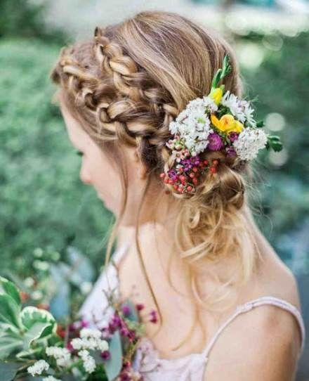 23 Evergreen Romantic Bridal Hairstyles: Wedding Hairstyles Classic Updo Hair Tutorials 28+ Ideas
