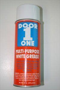 Door One White Multi Purpose Garage Door Grease Lubricant By Wayne 9 99 Door One Multi Purpose Garage Garage Doors Garage Door Lubricant Garage Door Grease