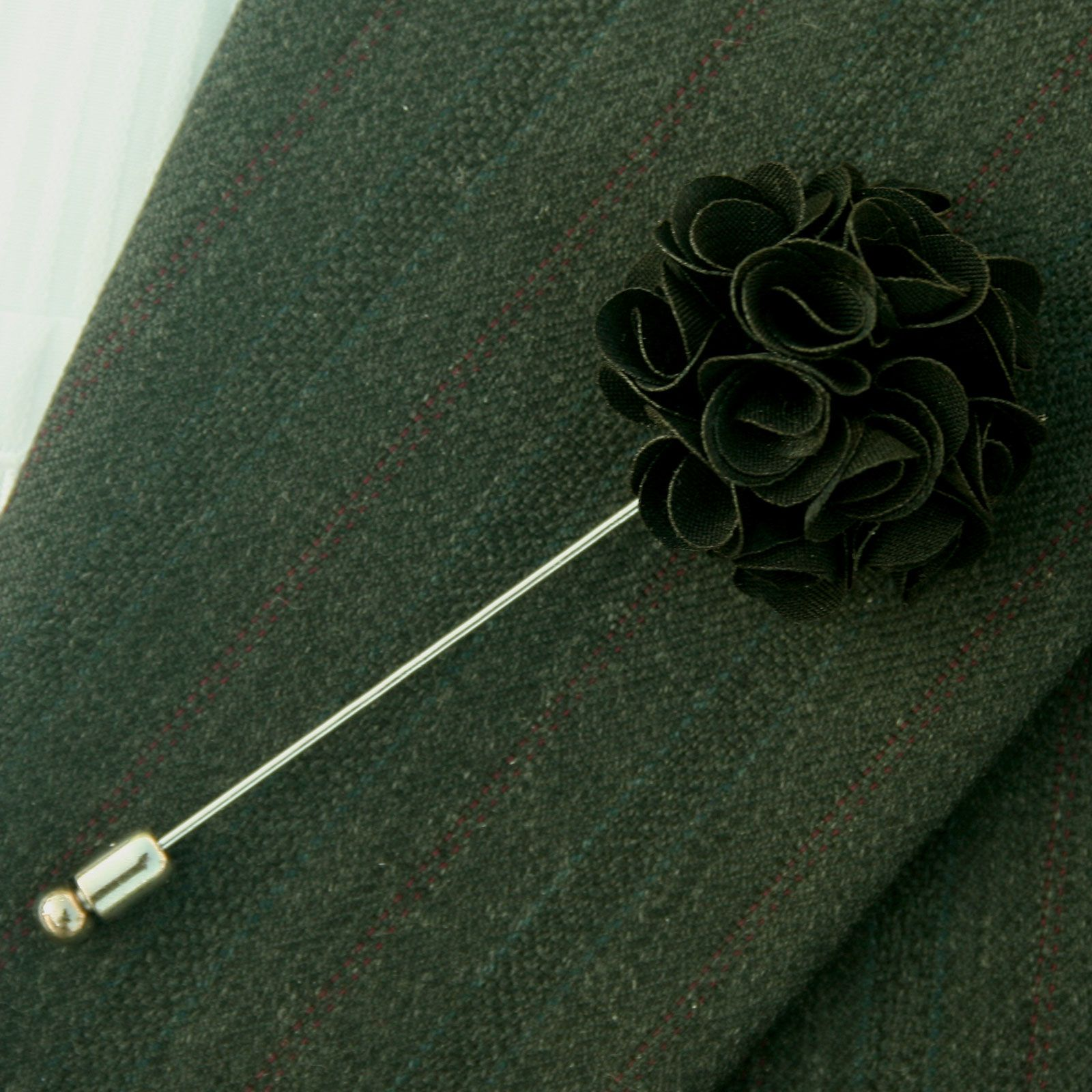 Details about Men Lapel Daisy Flower Handmade Boutonniere