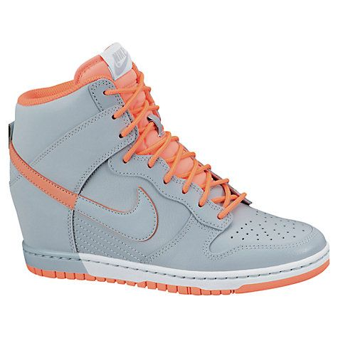 Buy Nike Dunk Sky Hi Wedge Trainers Online at johnlewis.com ... a8e2fddebaed