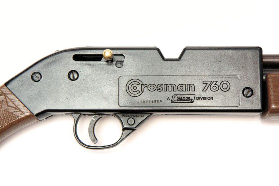 Crosman Vintage Old 760 Pumpmaster Air Rifle  177 BB's  Notice the