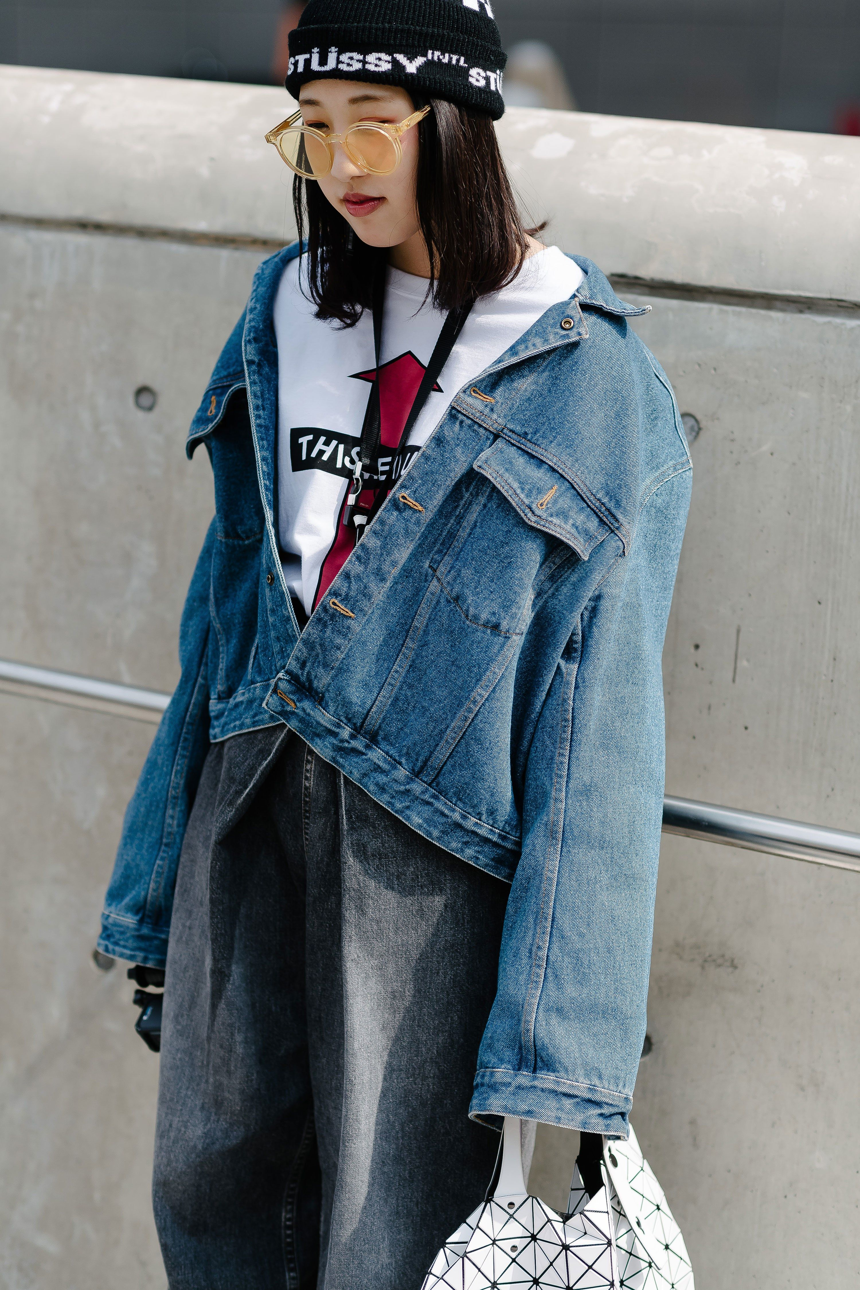 A classic chic, urban look for fall from one of our