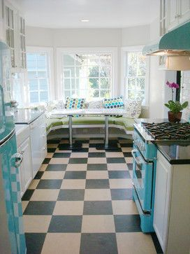 Retro Chill Kitchen eclectic kitchen