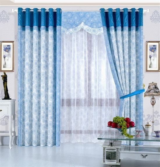 15 Latest Curtains Designs Home Design Ideas Dengan Gambar