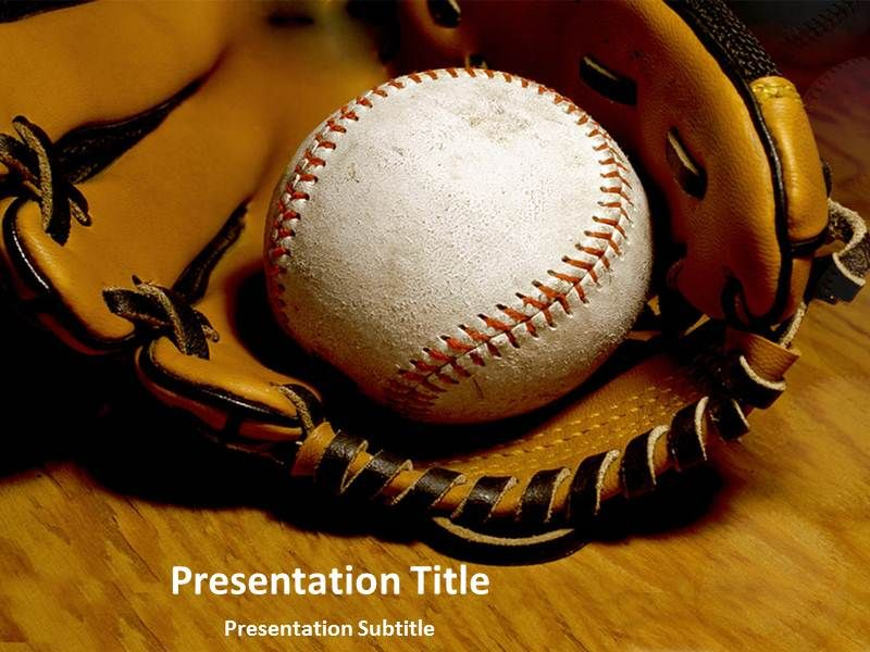 Baseball Ppt Templates Will Enhance The Extend Of Your Imagination