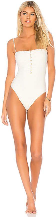 39b1710fced12 Vix Swimwear Scales Button One Piece |