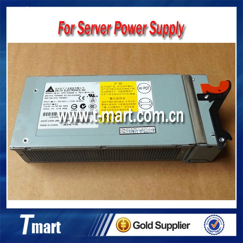 (68.00$)  Watch now - http://aipqd.worlditems.win/all/product.php?id=32804779291 - 100% working server power supply for IBM HS20 74P4400 74P4401 DPS-1600BB A, fully tested