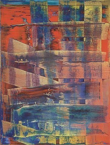 Gerhard Richter. Tableau abstrait.  1992. Catalogue Raisonné: 761-1. http://www.gerhard-richter.com/art/paintings/abstracts/detail.php?paintid=7899#