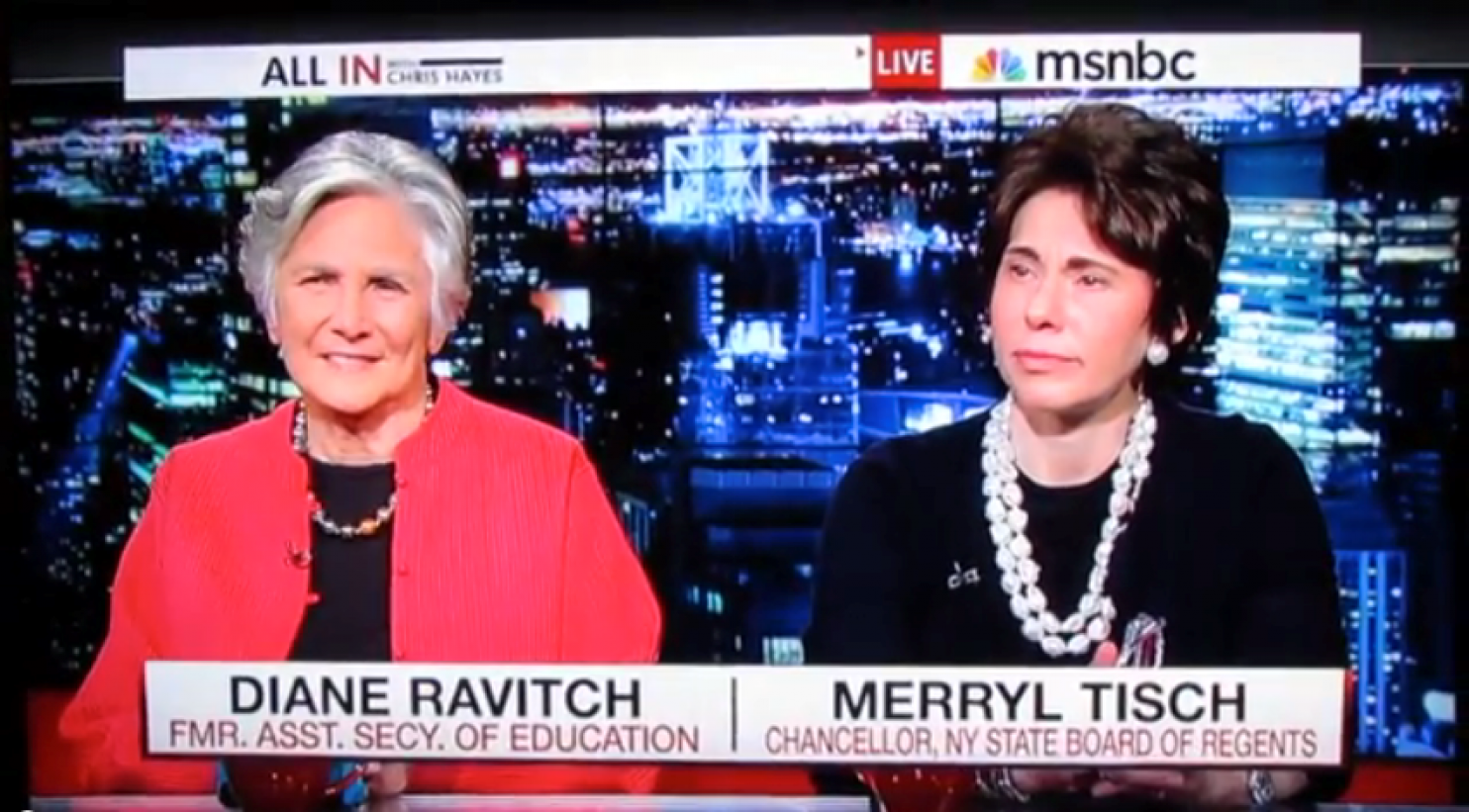 Why the debate between Diane Ravitch and Merryl Tisch was remarkable - The Washington Post