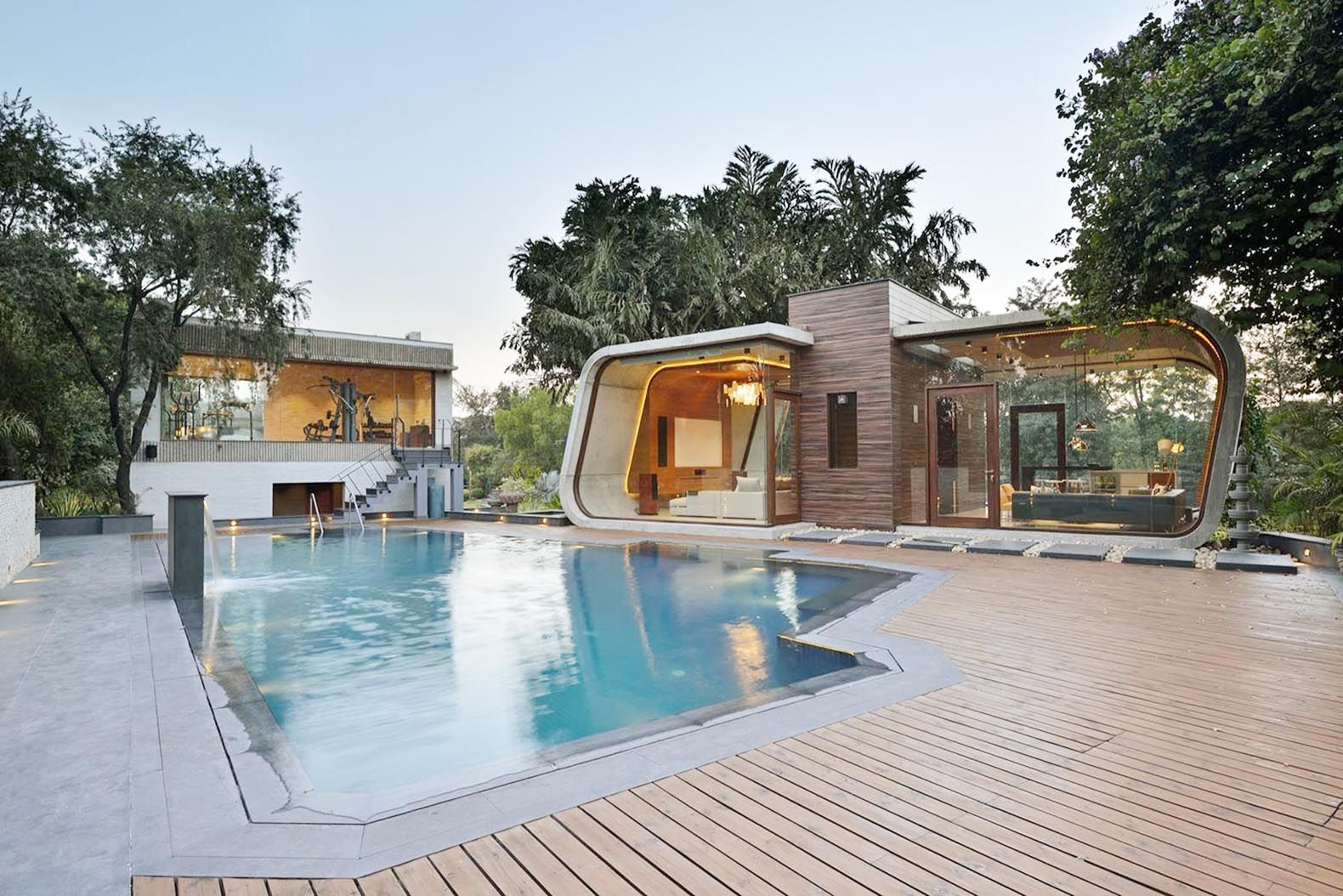 Pool House By 42mm Architecture Modern Pool House Pool House Pool House Designs