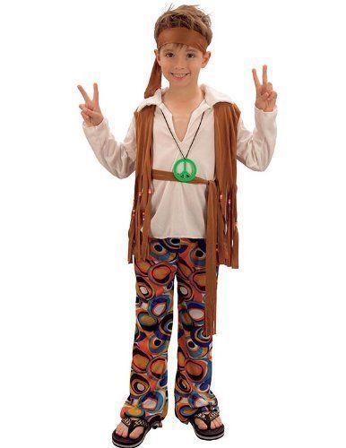 Boys Hippy Boy Costume  sc 1 st  Pinterest & Tie Dye Hippie Costume for Kids | Pinterest | Hippie boy Costumes ...
