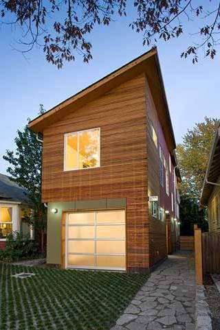 modern urban small house design solution vertically - Small Home Design
