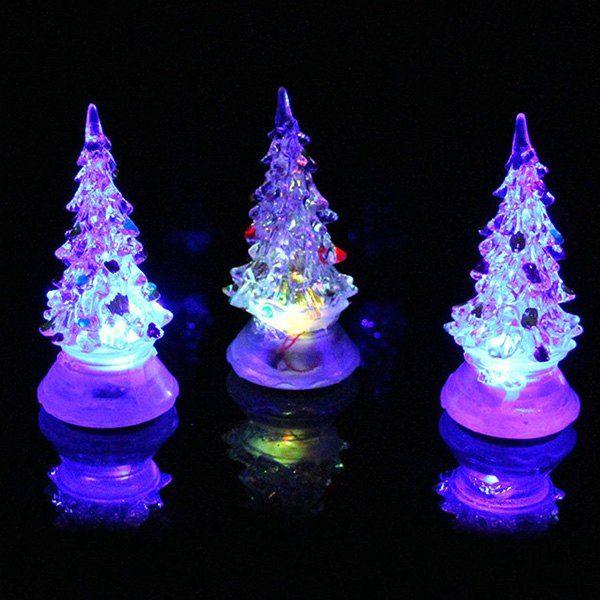 Luminous LED 7 Colors Changing Glow Christmas Tree Christmas Decor