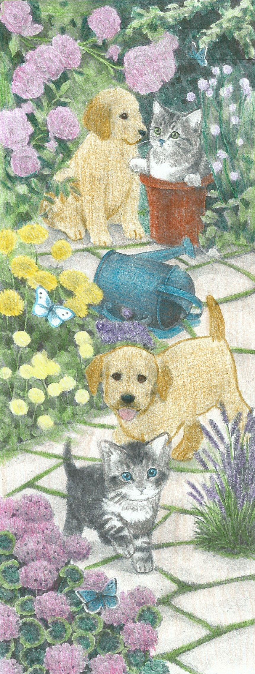 Hondjes En Poesjes Hondjes Dieren Kleurplaten